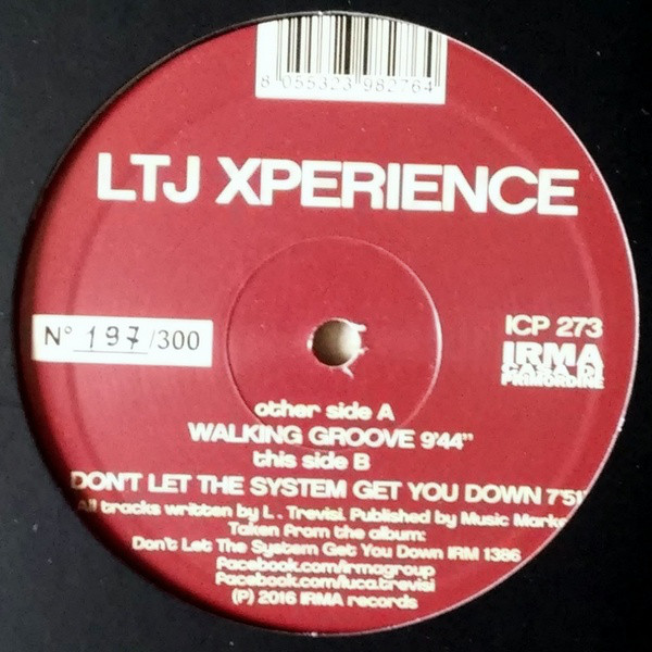 "Walking Groove (12"", 45 RPM, Single, Limited Edition)"